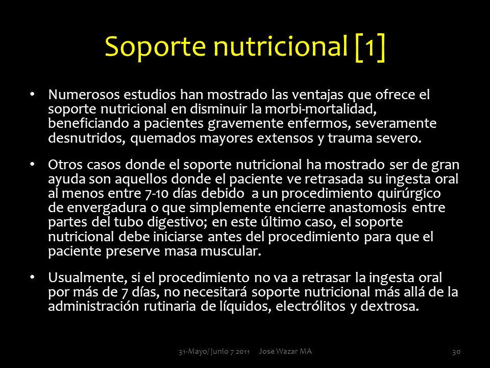 Soporte nutricional [1]